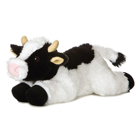Aurora World Flopsie Plush Toy Animal, (Cow-Maybell) , 12""