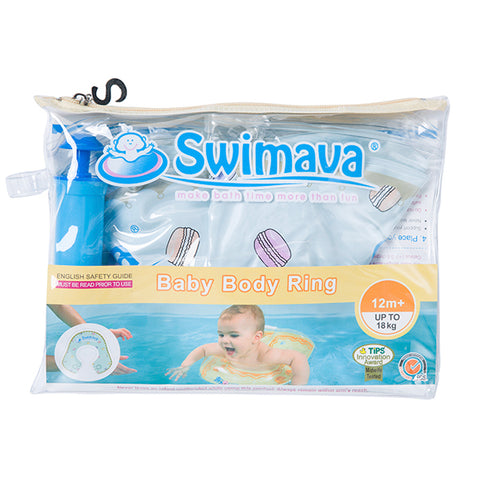 Swimava U-shape pool floats for Toddlers (G-2 Macaron)