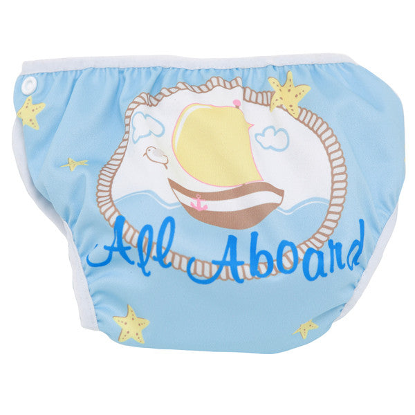 Sail Boat S1 Swim Diaper