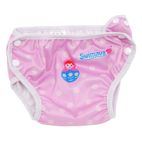 Swimava G-2 Macaron Swimming Float with Diaper Bundle