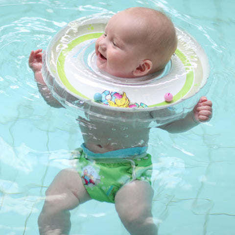 Swimava G1 Starter Baby Floatie - Green Duck (Free Shipping) - Swimava USA - 2