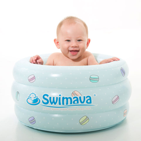 swimava p3 macaron mini baby spa tub. Black Bedroom Furniture Sets. Home Design Ideas