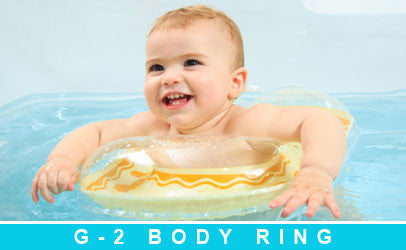 swimava baby body float ring for bathtub