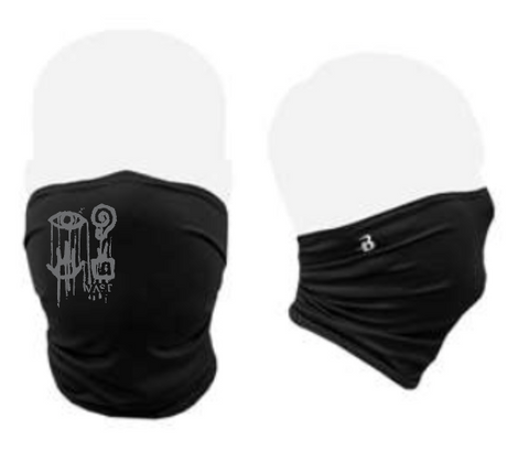 Gaiter style face mask with Vast Logo//Now here!
