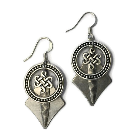 Boudicca Celtic Earrings