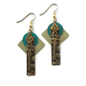 Mythos Earring Embossed