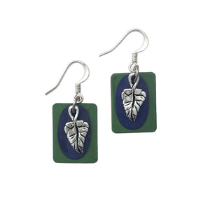 Fae Leaf Earrings