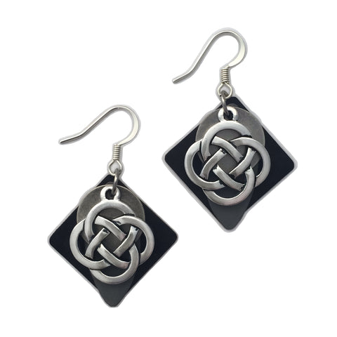 Entwined Celtic Earring