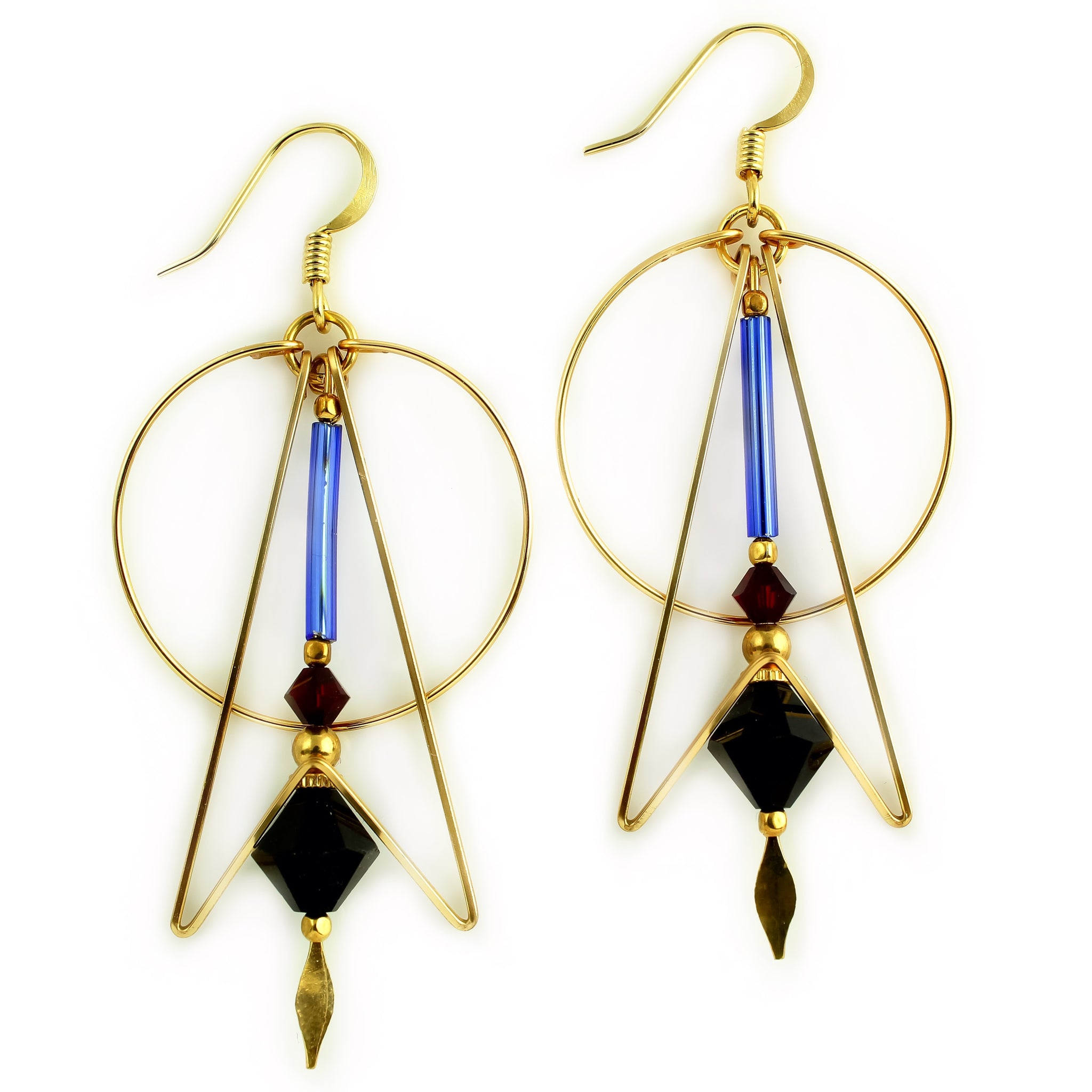 Art Deco Earrings Harpstone Jewelry Harpstone