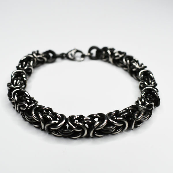 Antiqued Steel bracelet