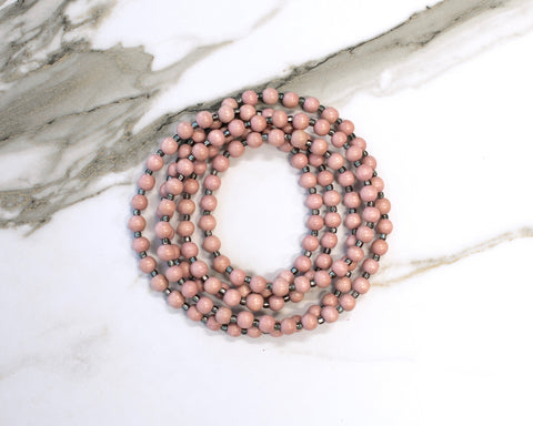 Webster Double Wrap Necklace
