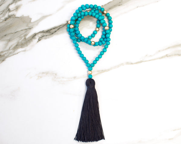 Abilene Tassel Necklace