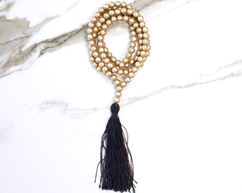 Heath Tassel Necklace