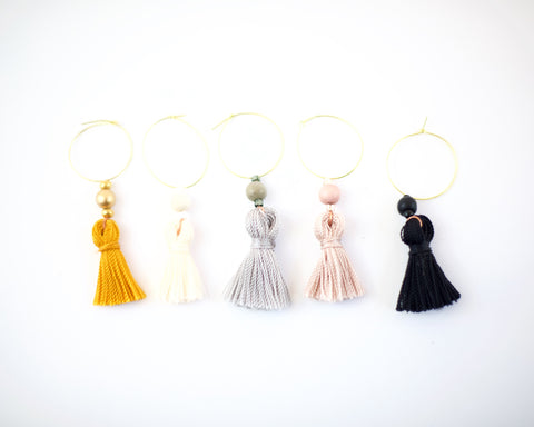 Tassel Wine Charms