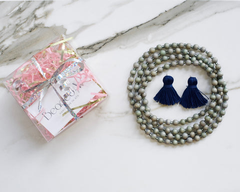 Navy & Gray Gift Box