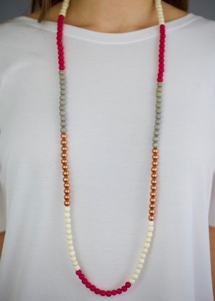 Napa Pink Necklace