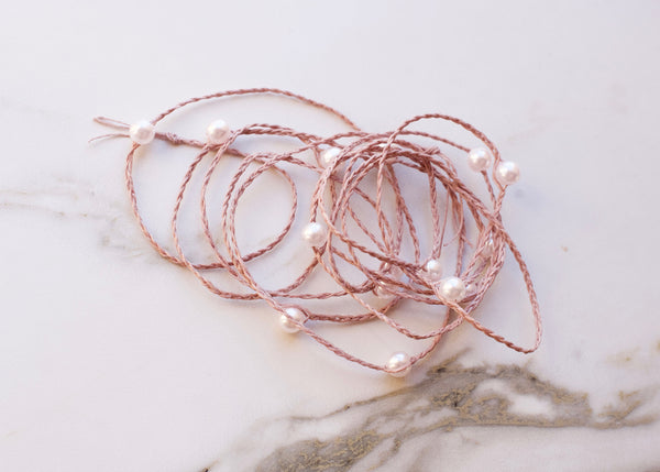 Laguna Blush on Blush Pearl Wrap