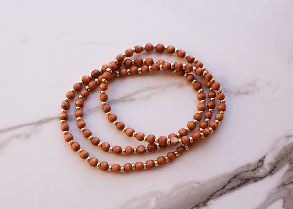 Solana Brown Necklace