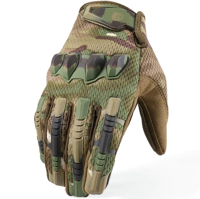 Touch Screen Heavy Tactical Gloves