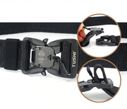 Nylon Belt with Quick Release Magnetic Buckle