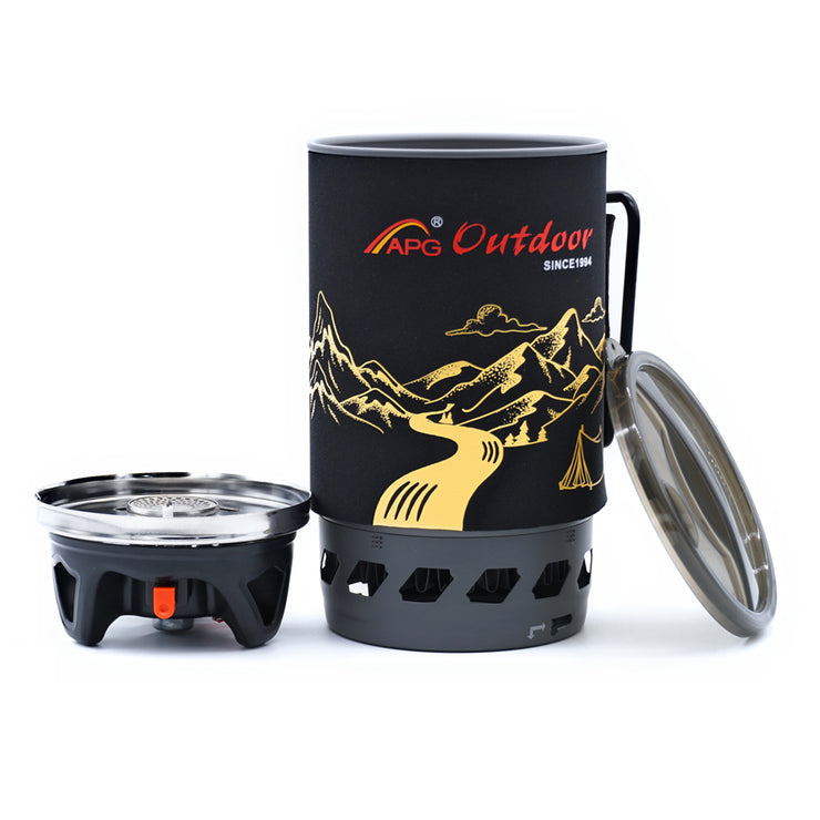 APG 1400ml Portable Gas Stove - Bearded Lion