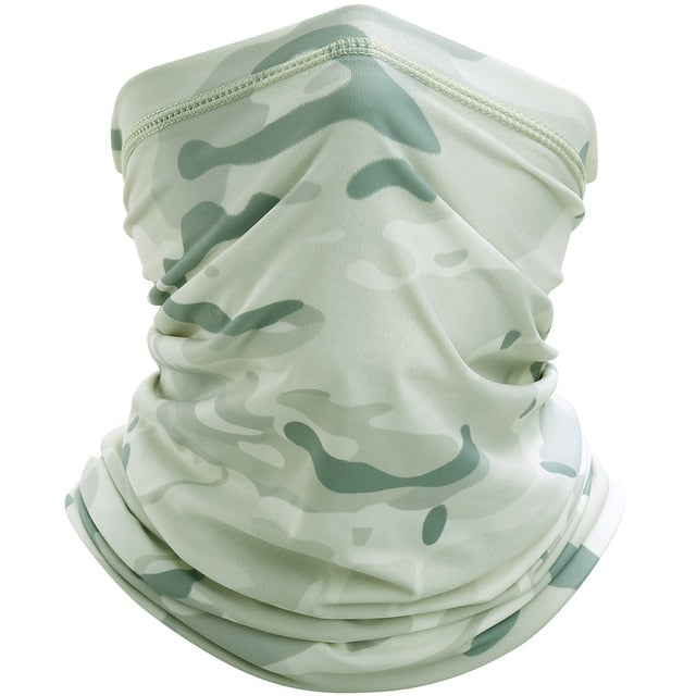 Tactical Camouflage Face Shield