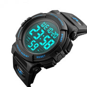 Digital LED Waterproof Watch - Bearded Lion