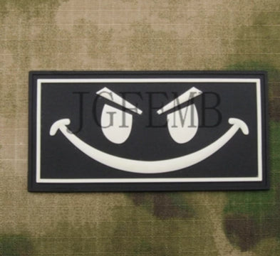 Seal Team Smiley Face Patch - Bearded Lion
