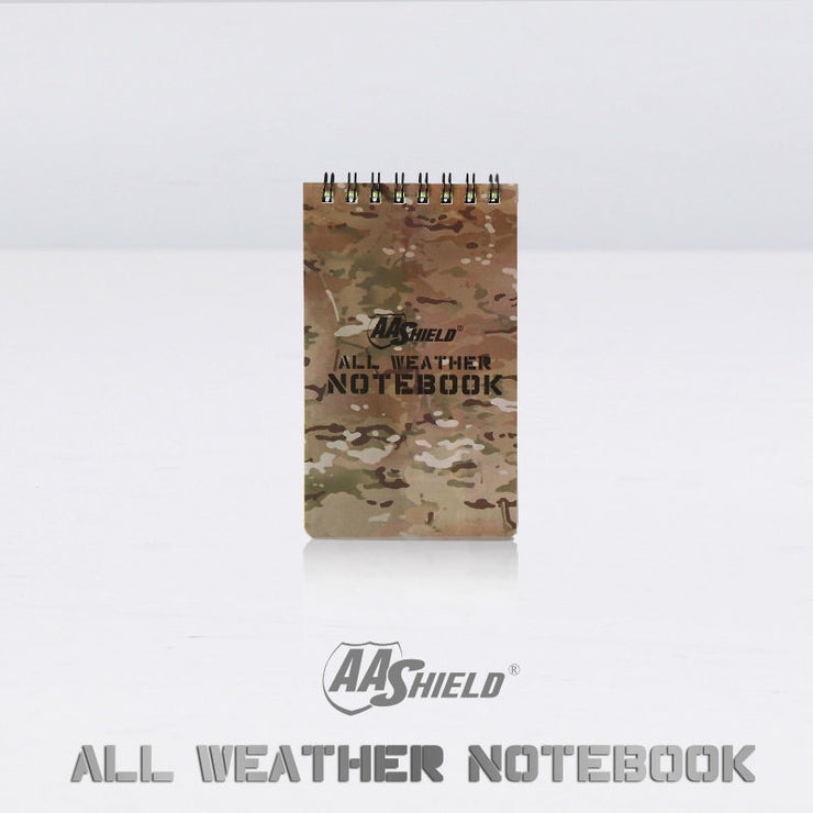 All Weather Outdoor Notebook - Bearded Lion