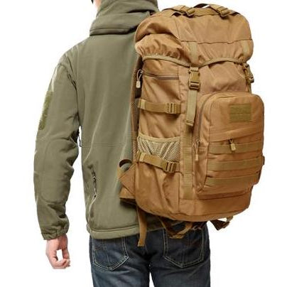 50L Large Capacity Tactical Backpack - Bearded Lion