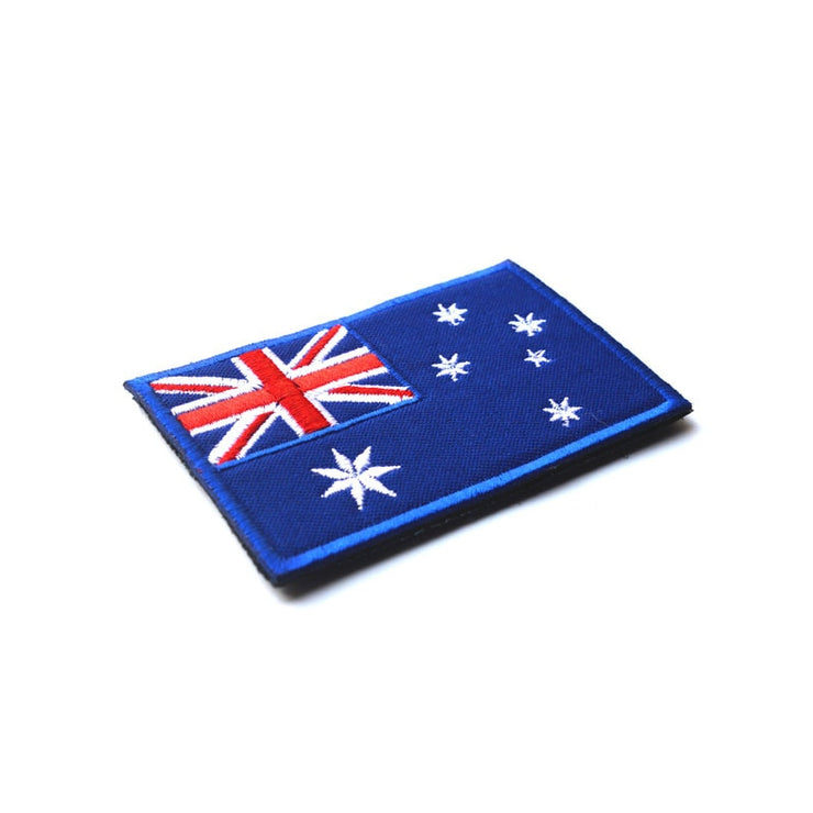 Australia Flag Embroidery Patch - Bearded Lion