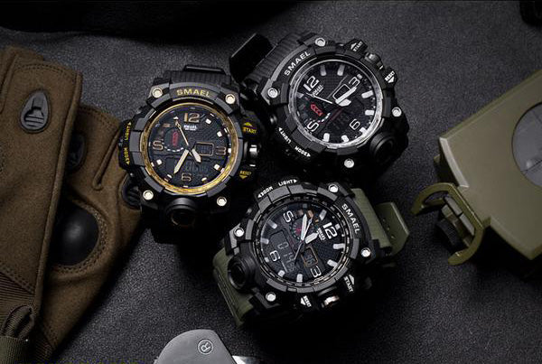 SMAEL 1545 Multi-Function Military Watch - Bearded Lion