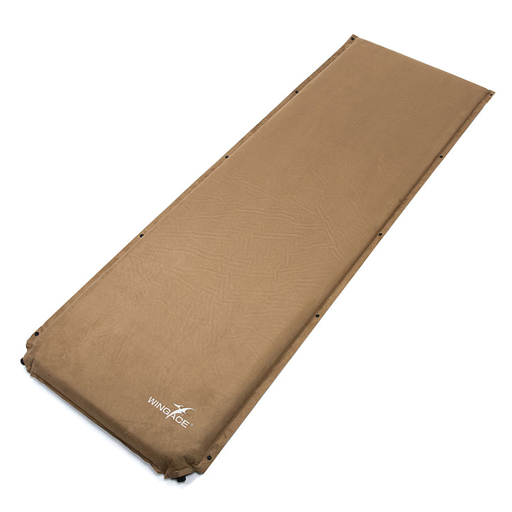 Inflatable Suede Mat - Bearded Lion