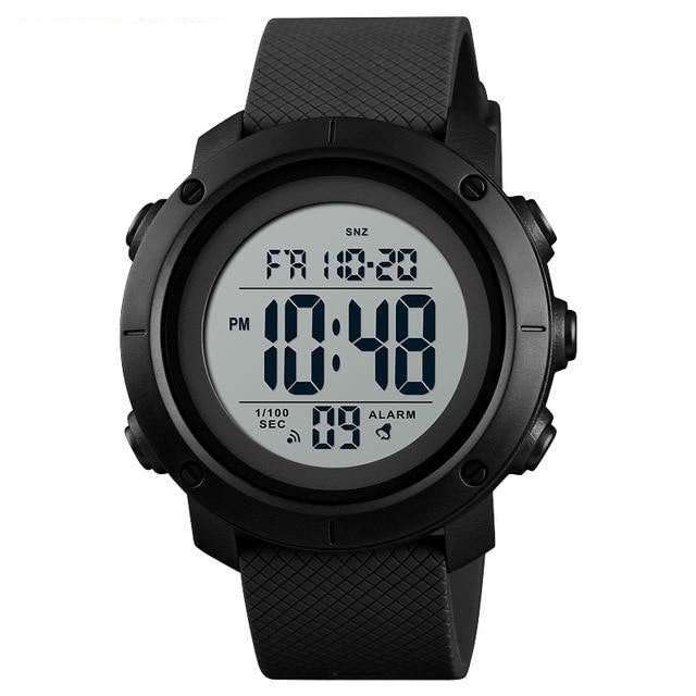 SKMEI Classic Digital Watch - Bearded Lion