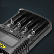 Nitecore UM4 Intelligent Charger - Bearded Lion