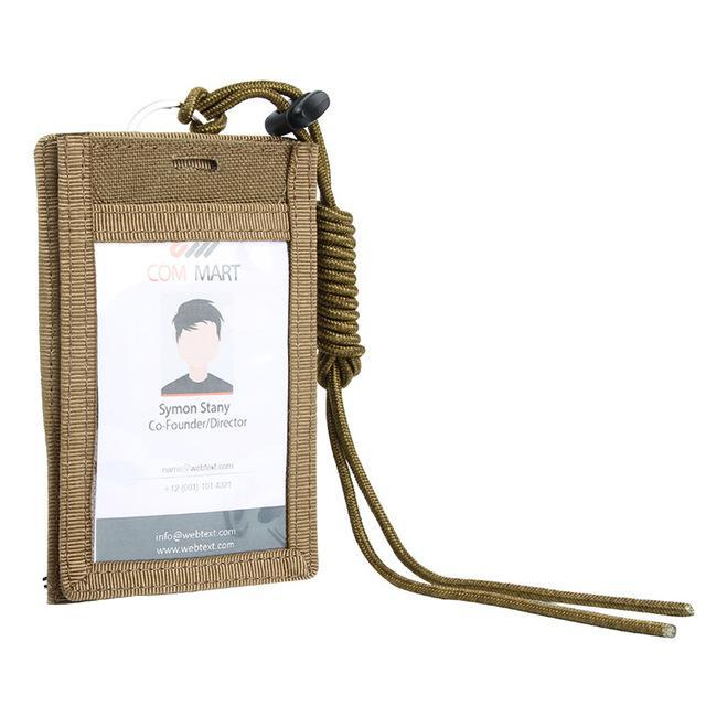 ID Card Holder - Bearded Lion