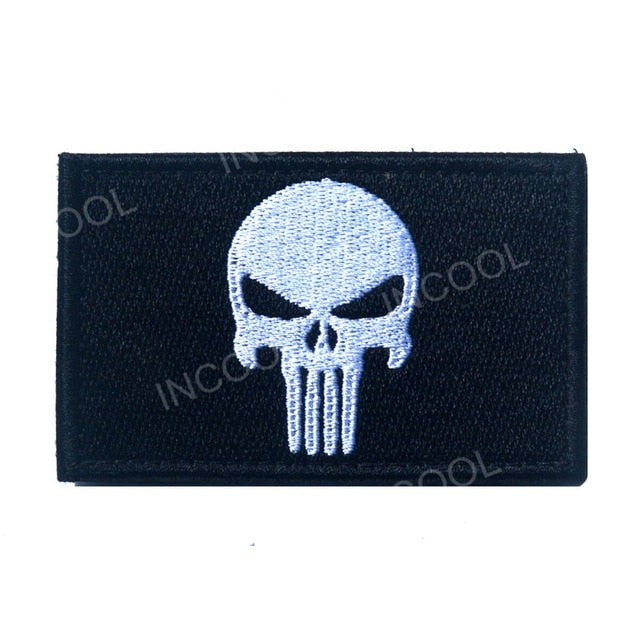 Punisher Patch - Bearded Lion