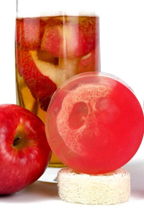 Apple Spritz Loofah Soap
