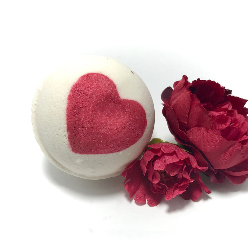 Rose Love Three Surprise Bath Bomb Set - SoapyMania