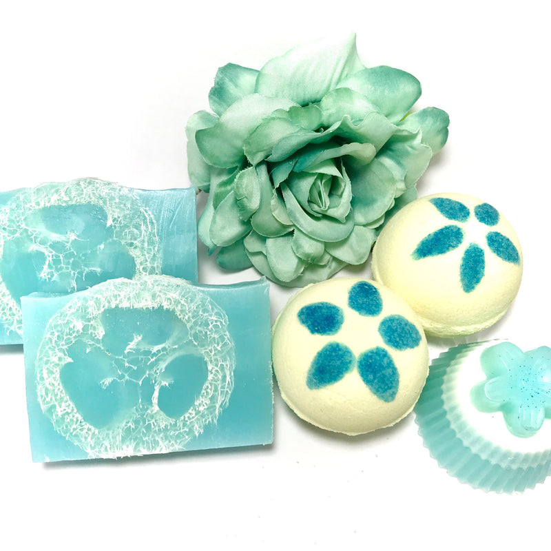 Tropical Plumeria Set - SoapyMania