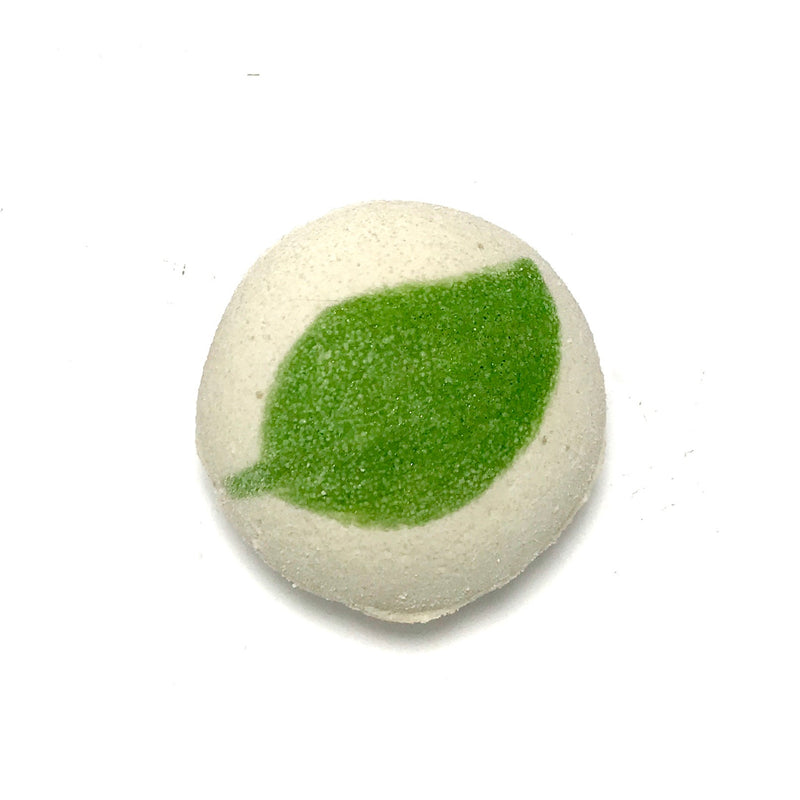 Mojito (Mint&Lime) Bath Bomb with a Surprise Inside - SoapyMania