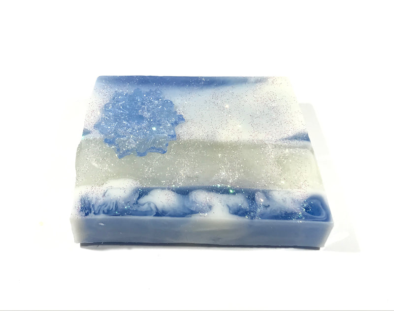 Snow Storm Christmas Soap - SoapyMania
