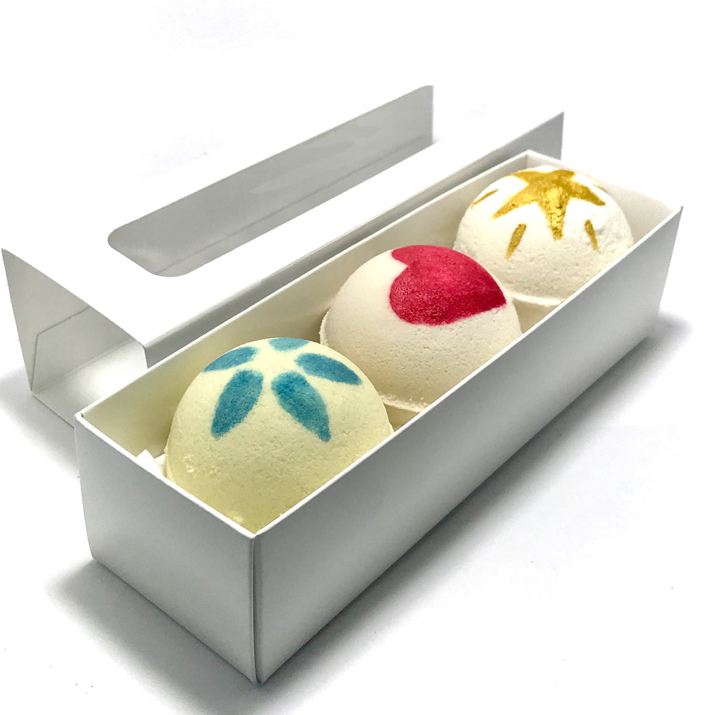Pick Your Three Surprise Bath Bomb Set - SoapyMania