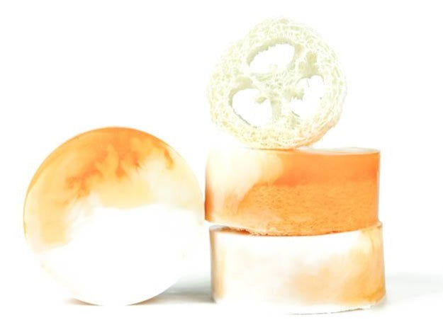 Mango & Coconut Loofah Soap - Pack of 5
