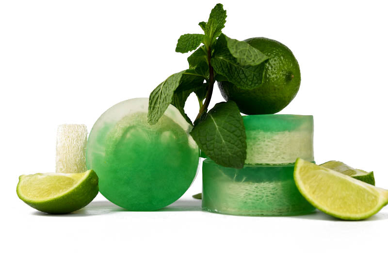 Mojito (Mint & Lime) Loofah Soap - Pack of 5