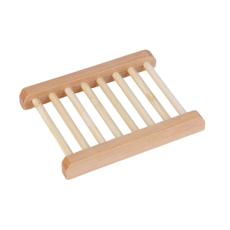 Breathable Ladder Wooden Soap Dish - SoapyMania