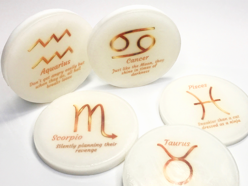 Zodiac Soaps with a message INSIDE the soap - SoapyMania