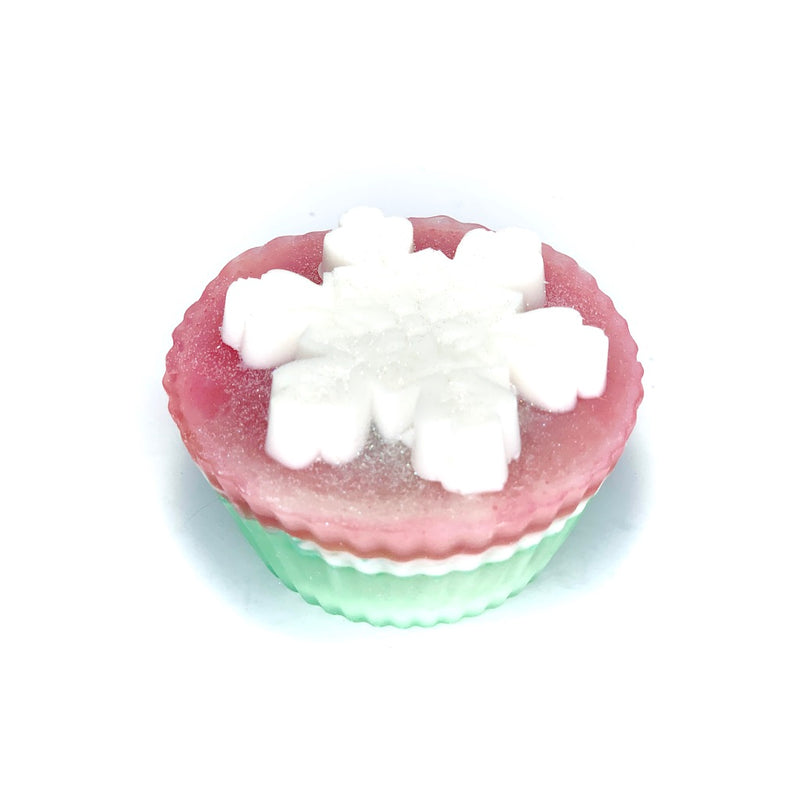 Christmas Morning Cupcake Soap
