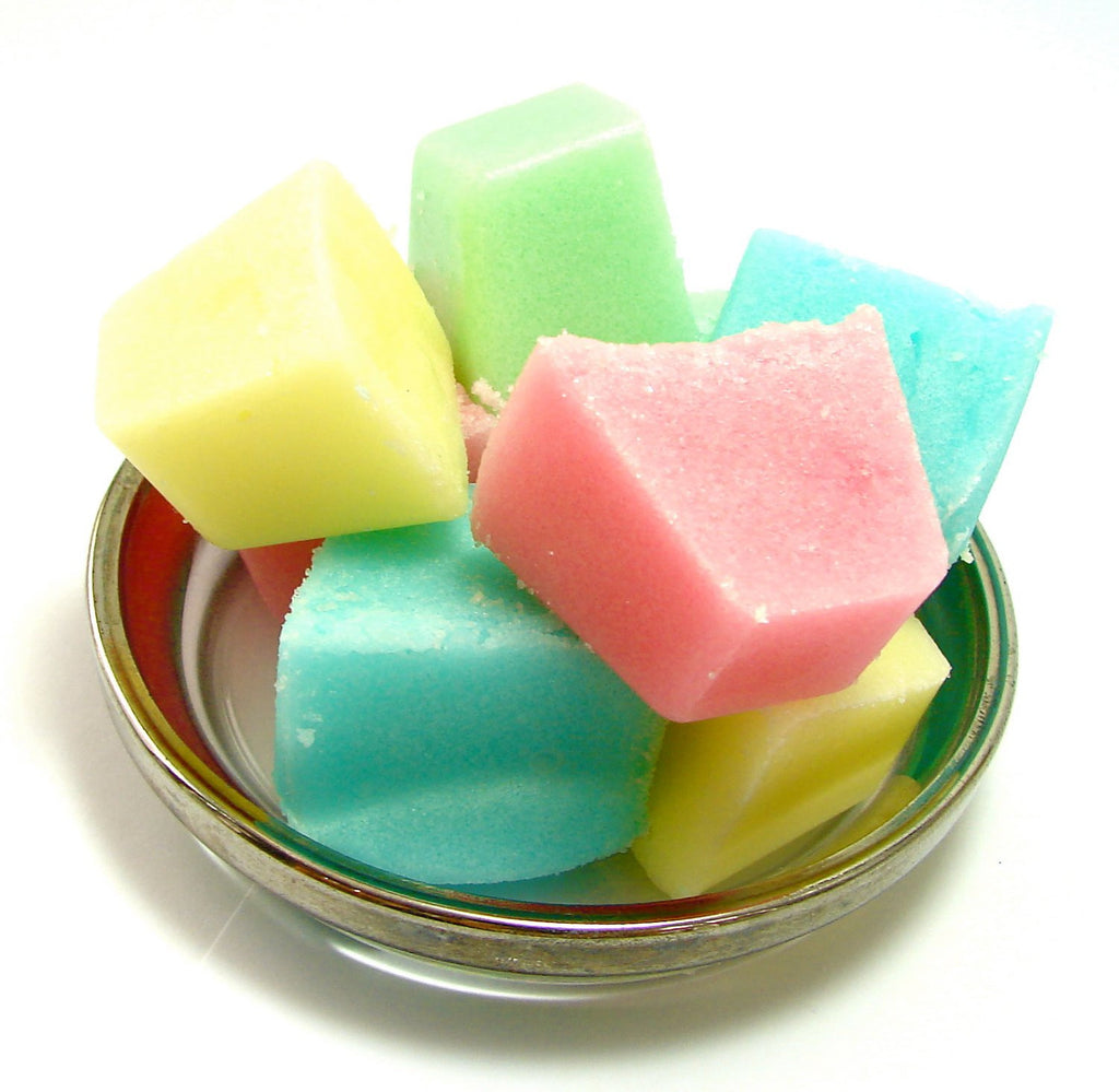 "Sugar Scrub Cubes ""Happy Rainbow"" - SoapyMania"