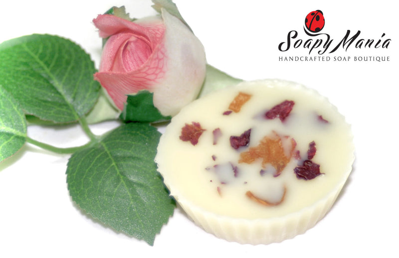 English Rose Lotion Bar Set of 3 - SoapyMania